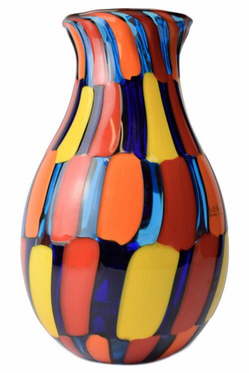 Vaso-Glas-Murano-gesprenkelt