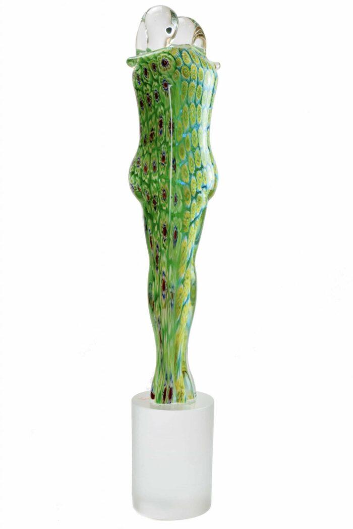 Skulptur aus Muranoglas