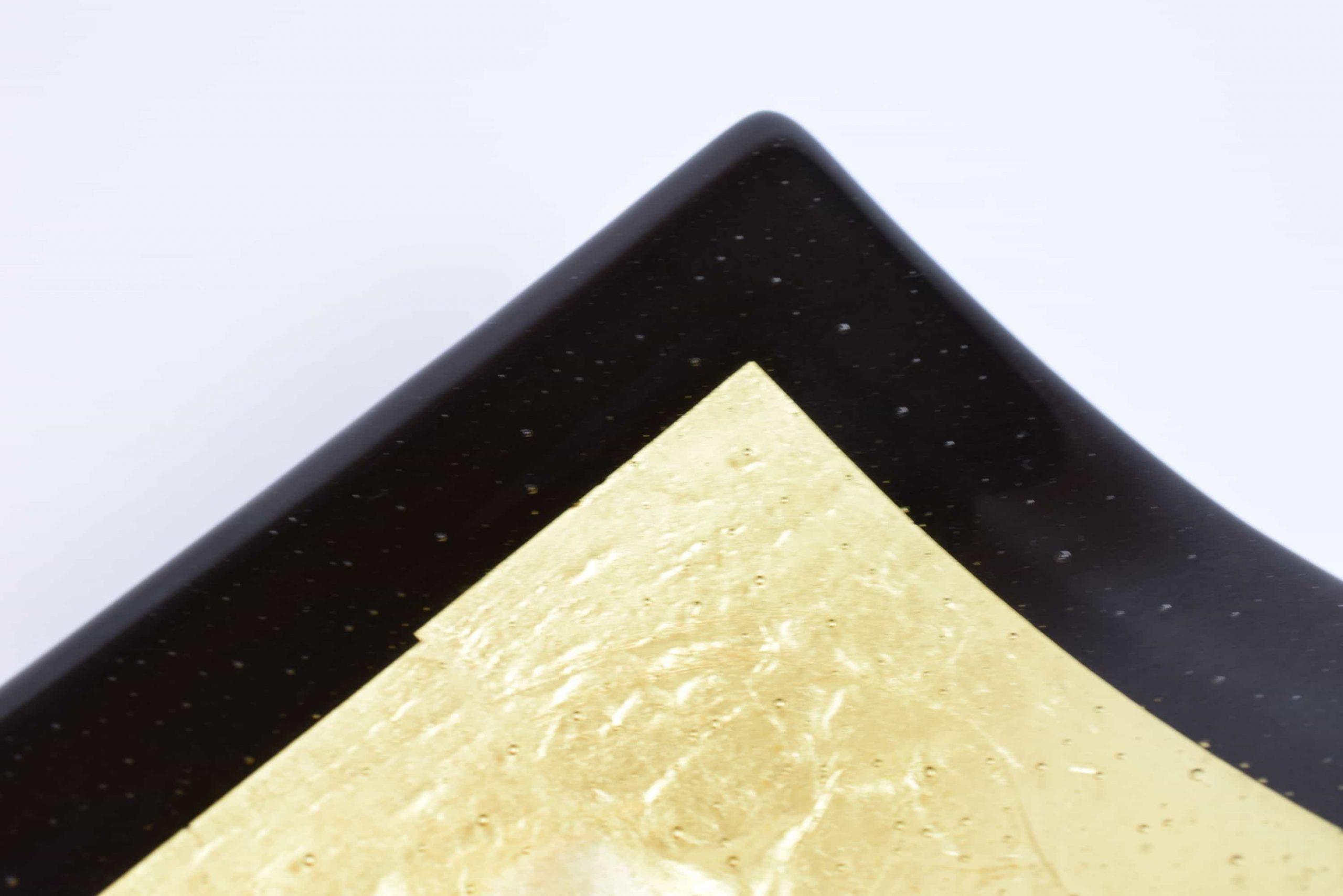 Blattgoldplatte