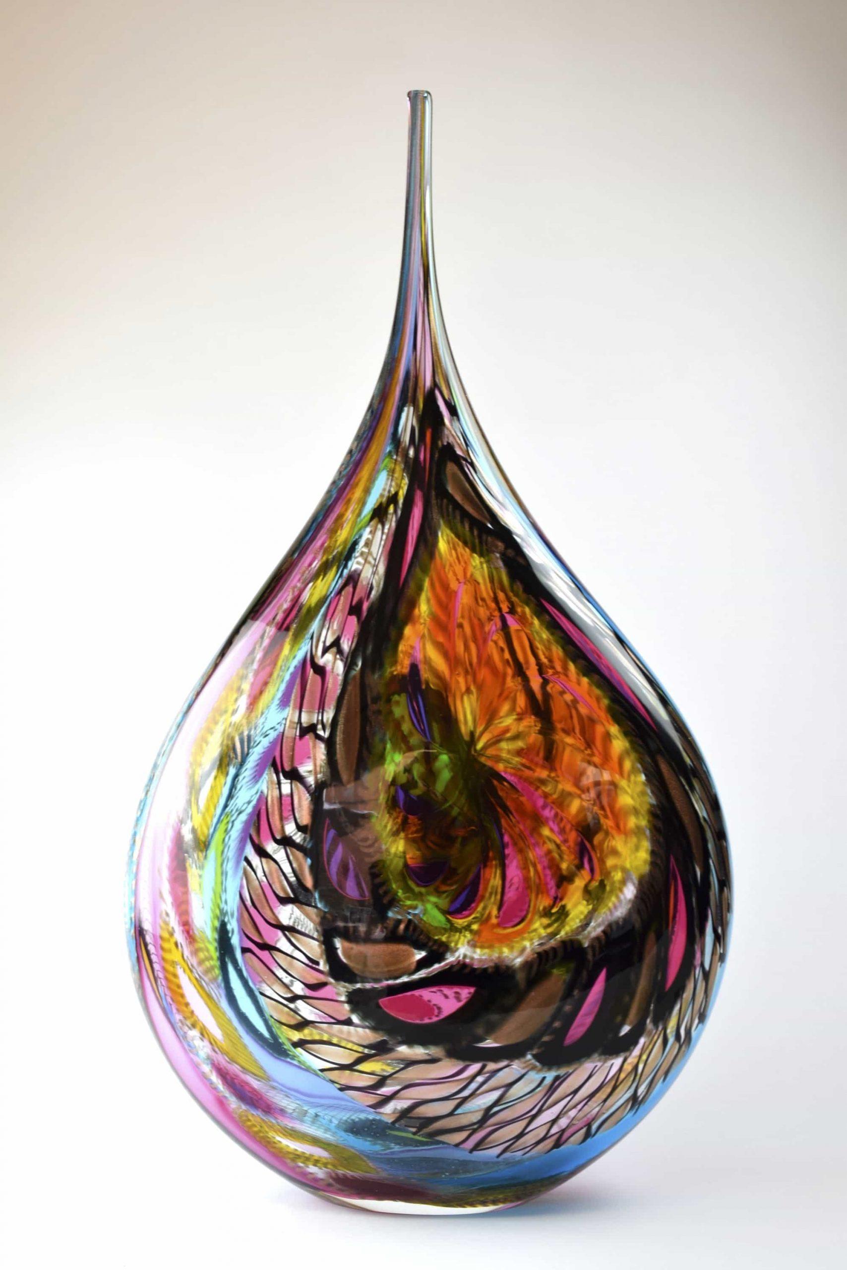 Einzigartige künstlerische Vase