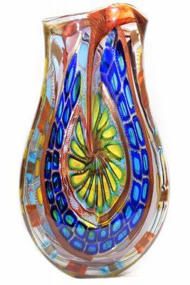 einzigartige Muranoglasvase