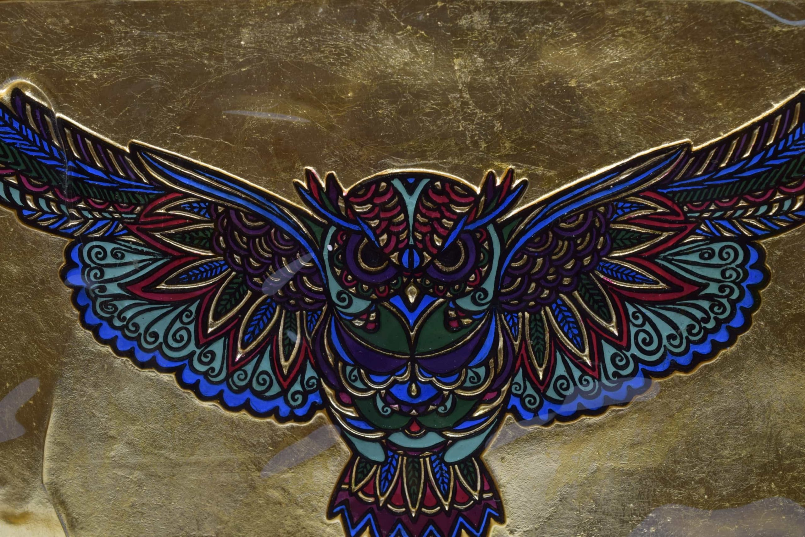 "Muranoglasbild ""Civetta"" (Art. 2941)"