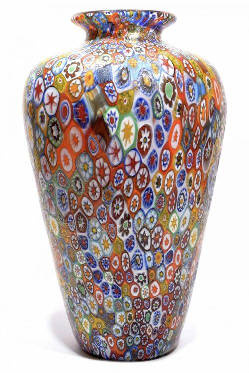 Murano-Glasvase unterzeichnet