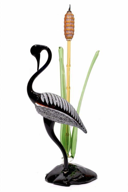 Murano Glasskulptur signiert