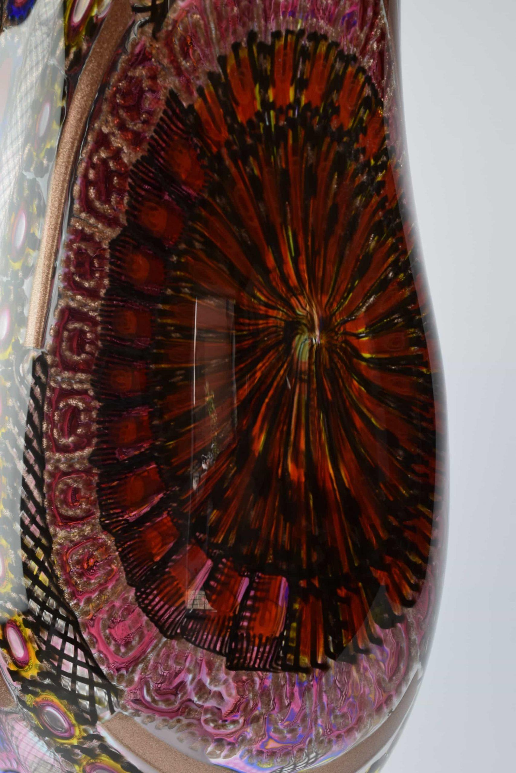 Murano Glas Mosaik Lampe - (Art. 2164)