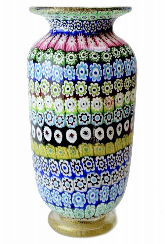 ваза миллефиори