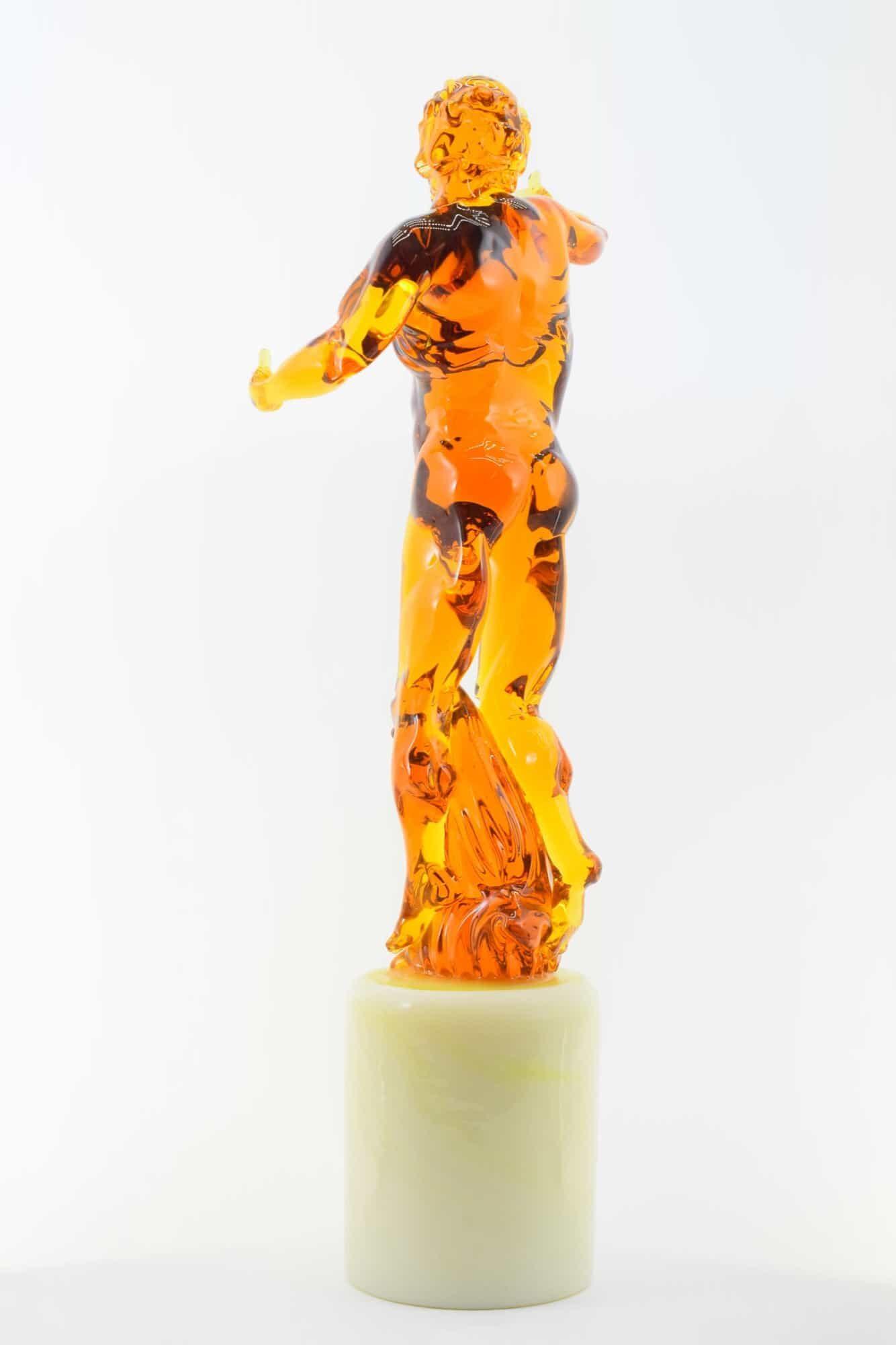 """Pino Signoretto Skulptur """"Poseidon"""" aus Muranoglas - (Art. 3161)"""