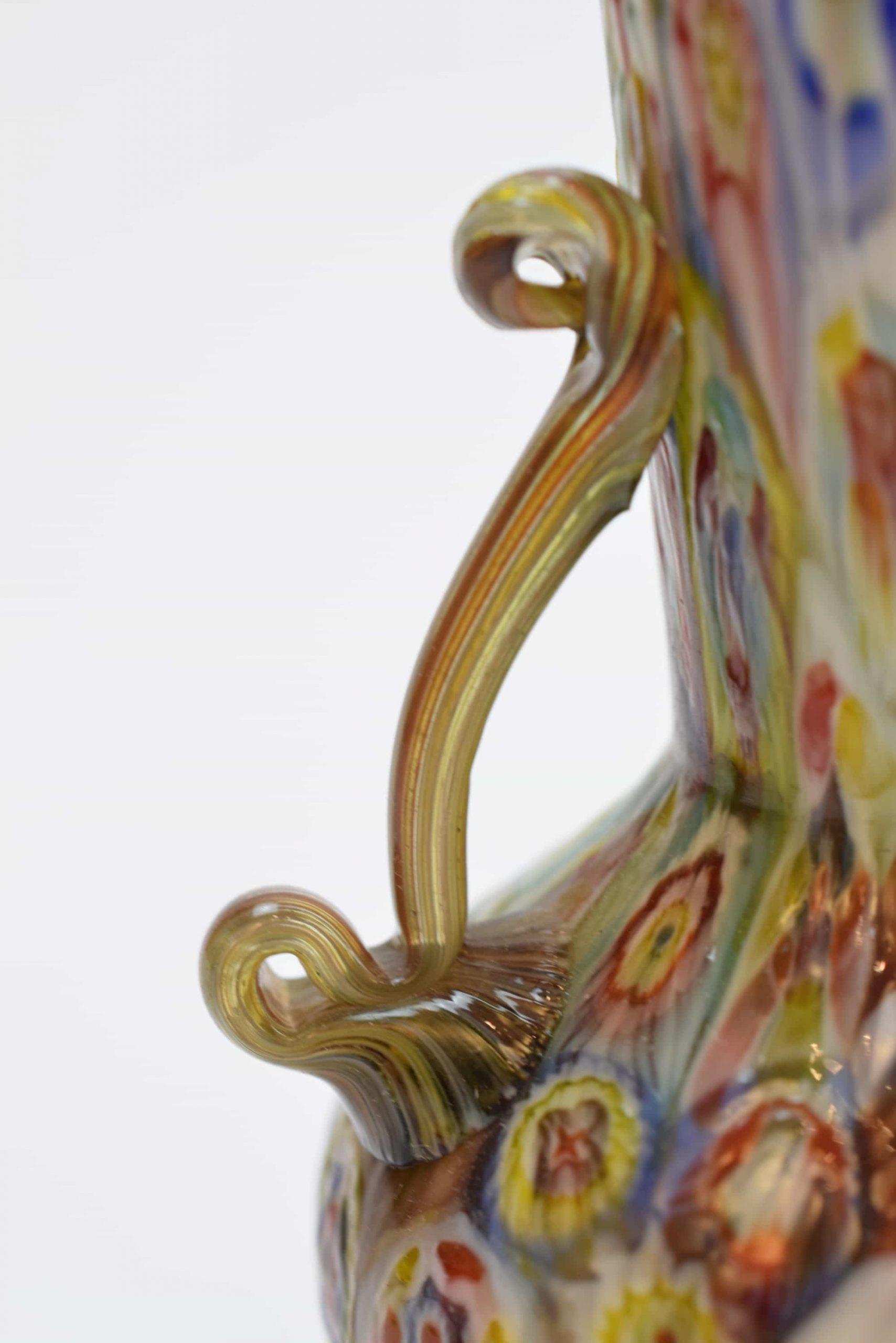 Мурринская ваза тридцатых годов из муранского стекла