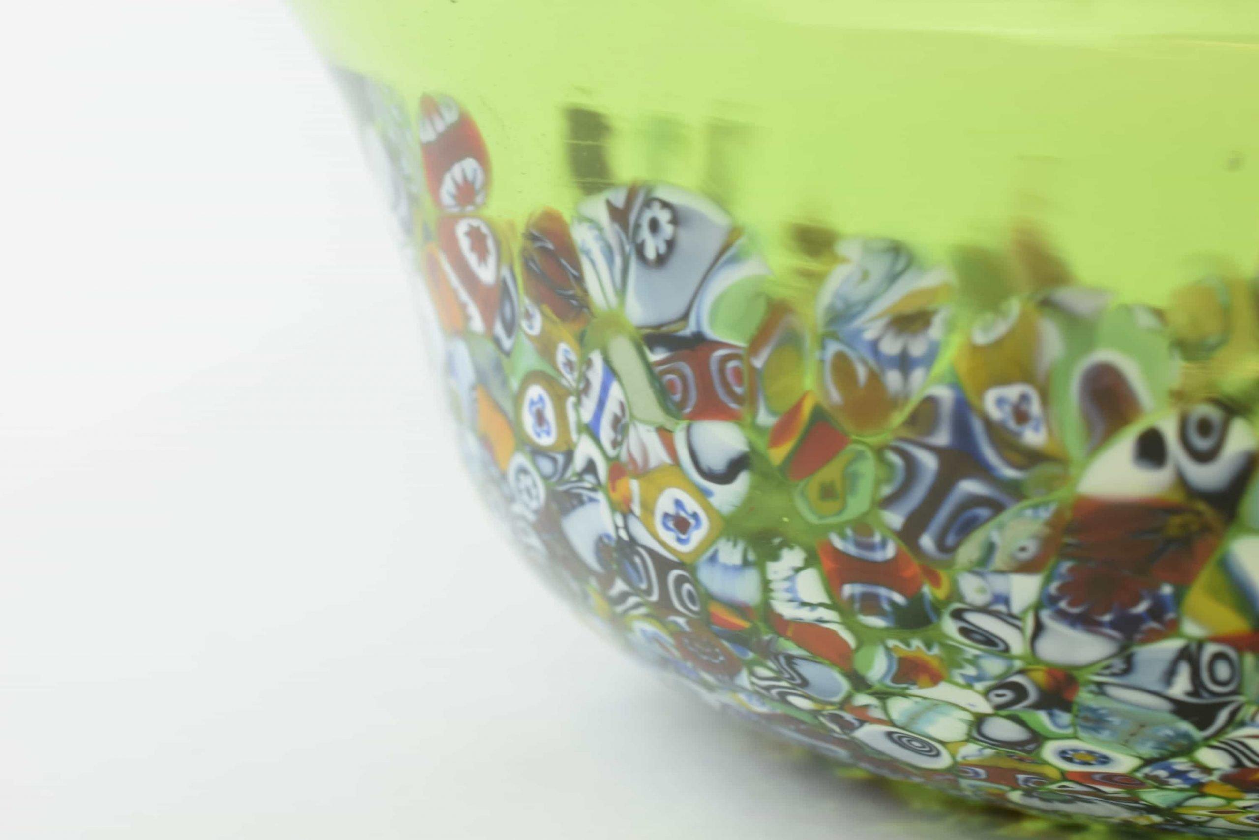Murano Glas Herzstück Mit Murrine