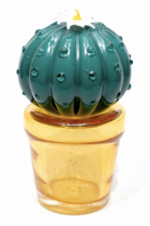 Kaktus aus Muranoglas