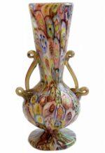 ваза с муранским стеклом murrine