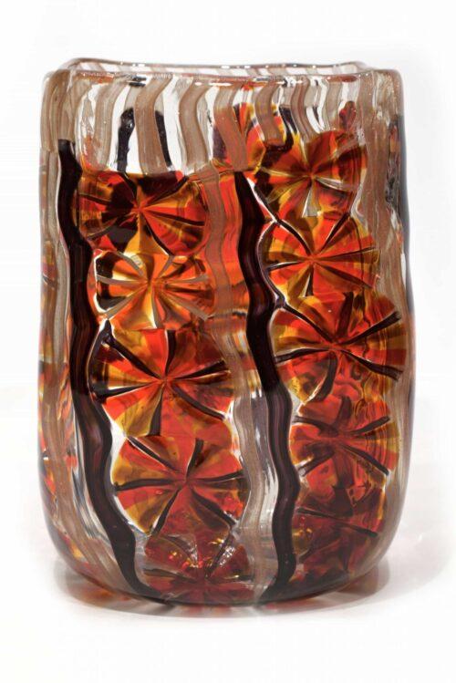 Звездная ваза из муранского стекла