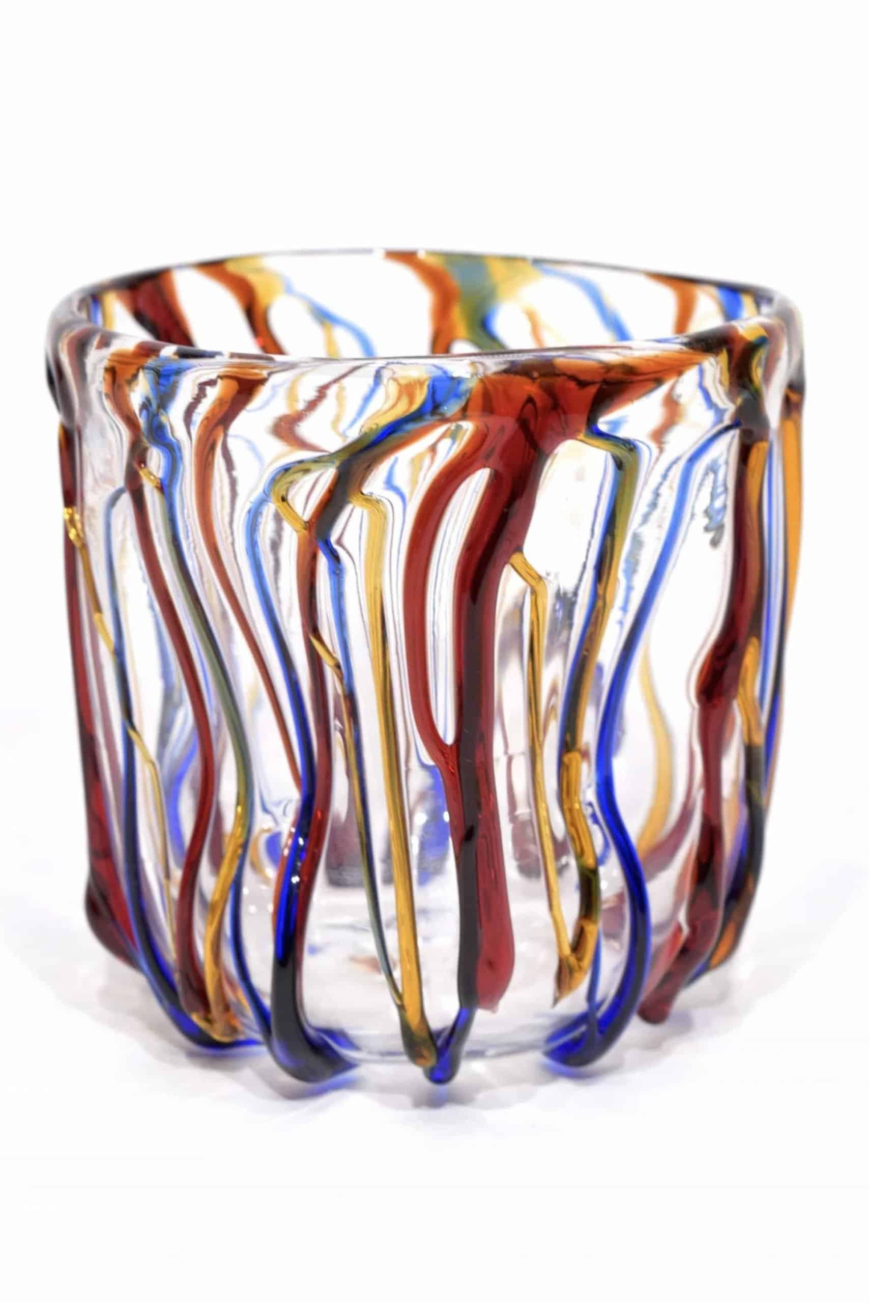 Brille Murano Glas goto unterzeichnet