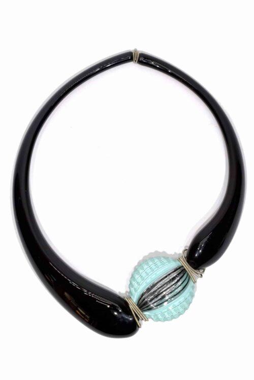 Murano Glas Halskette, Glas Halskette
