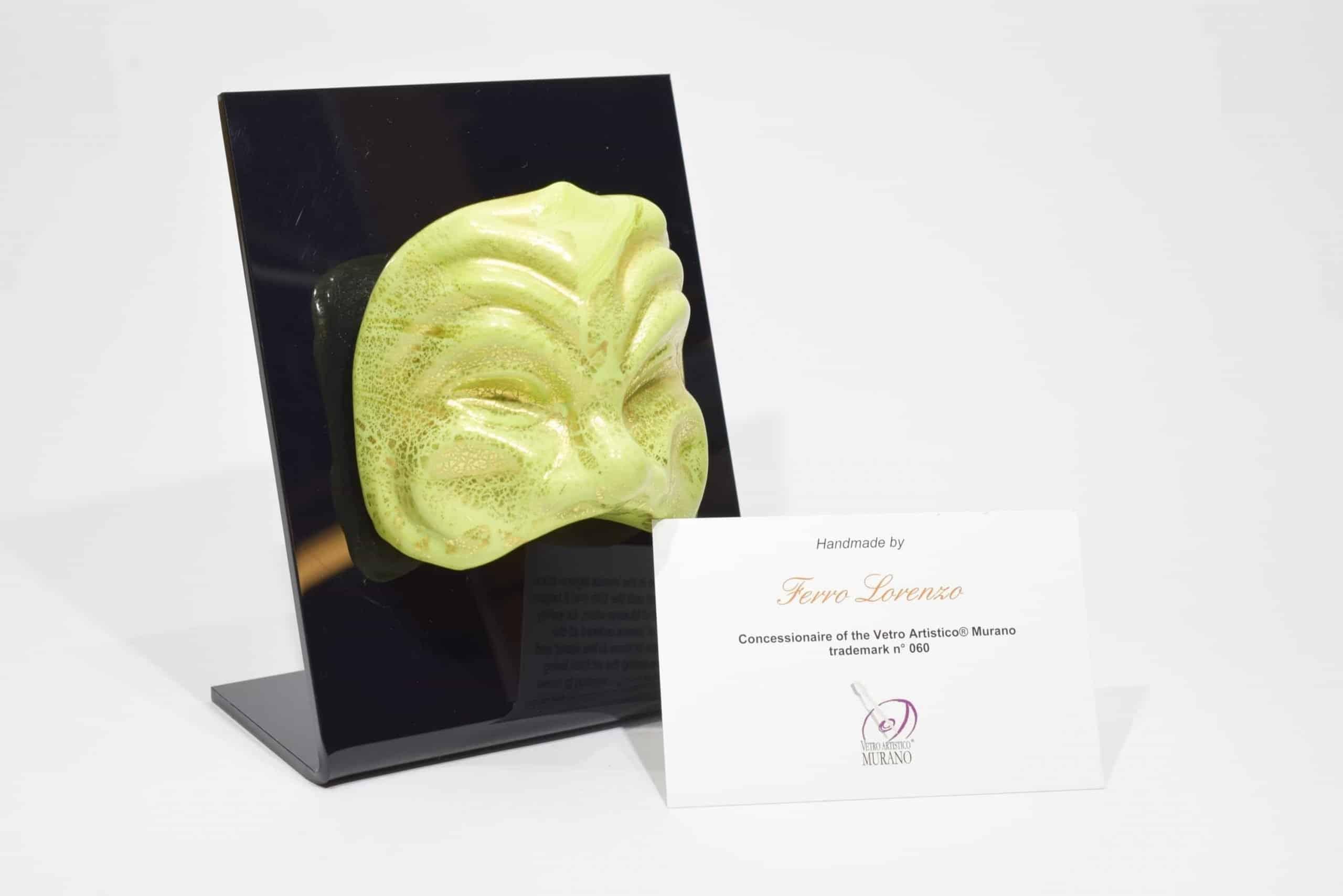 Venezianische Maske aus Muranoglas