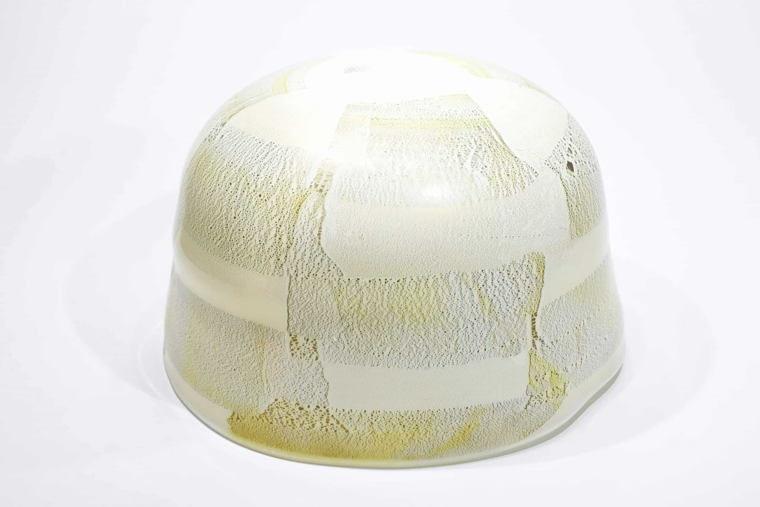 Herzstück aus Muranoglas Blattgold
