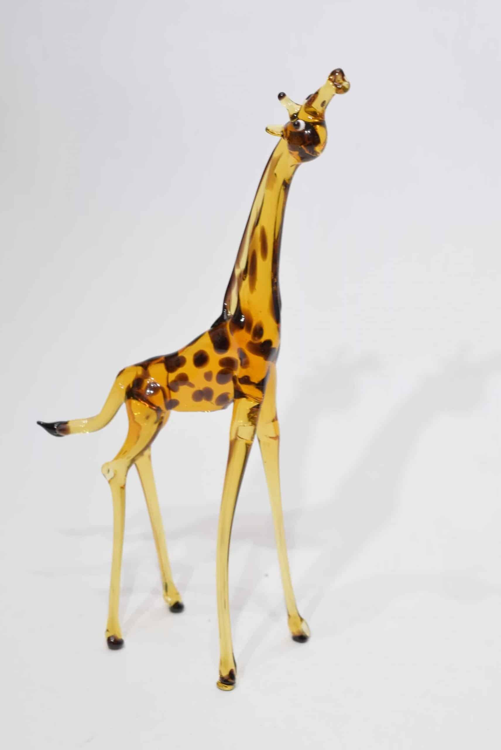 Giraffe In Murano Glas