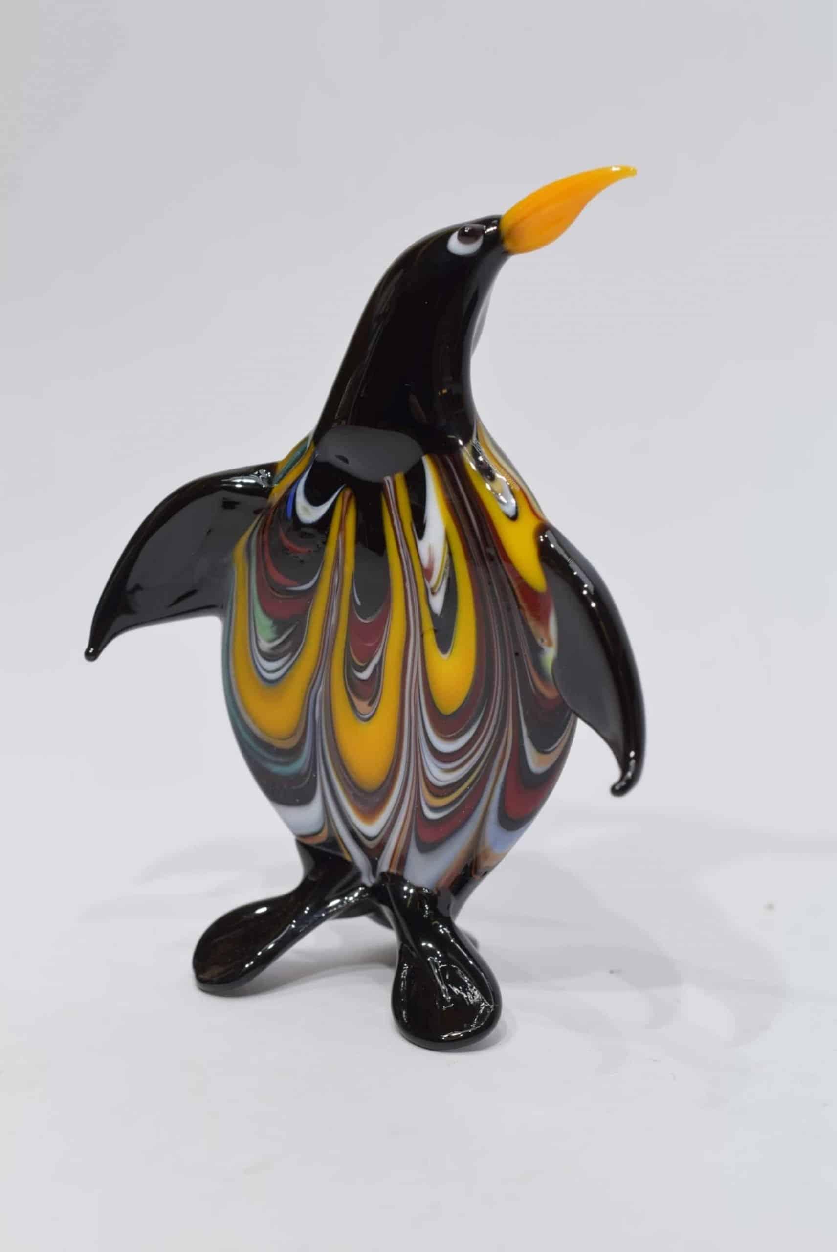 Pinguin in Muranoglas