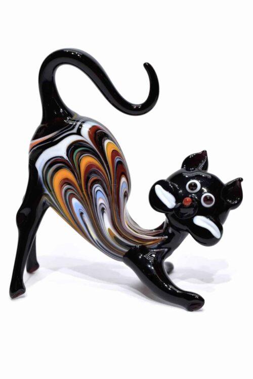 Katze aus Muranoglas