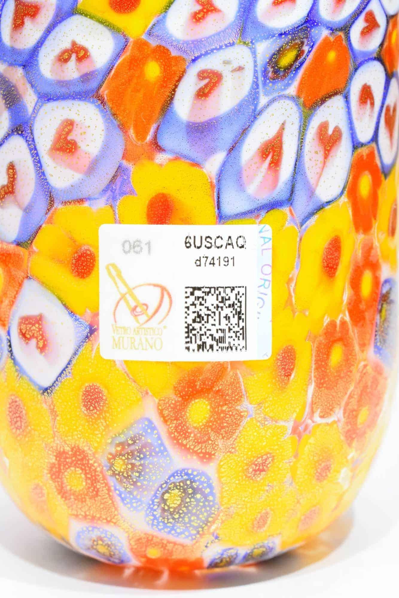 Murrine Glass In Murano Glass - (Art. 9220)
