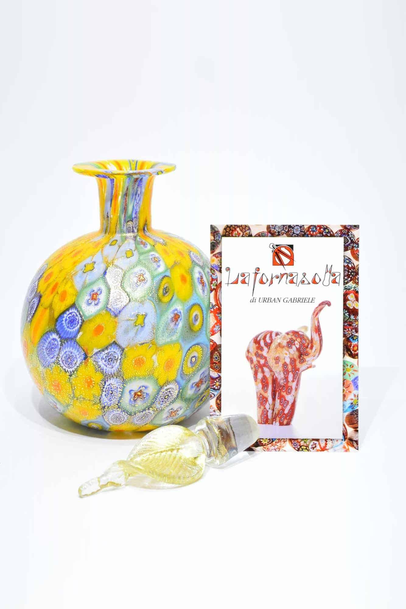 Бутылка Муррина из муранского стекла - (Art. 10327)