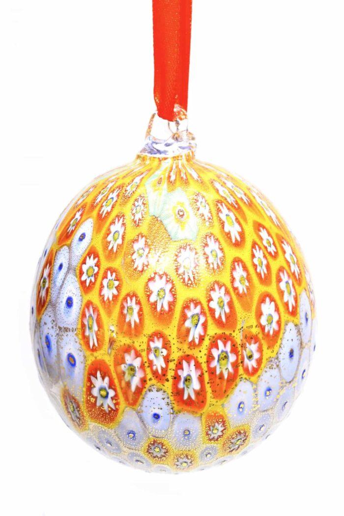 Елочный шар из муранского стекла