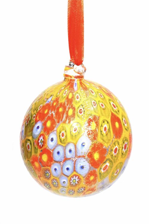 Muranoglas Weihnachtskugel