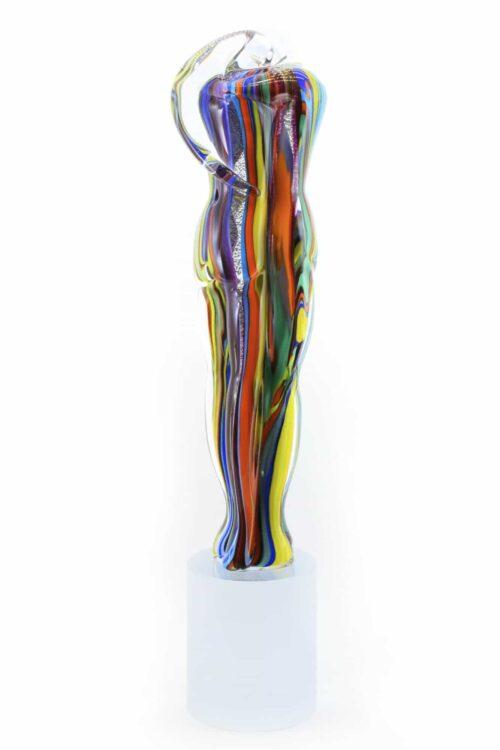 подводный стеклянный бюст скульптуры Мурано