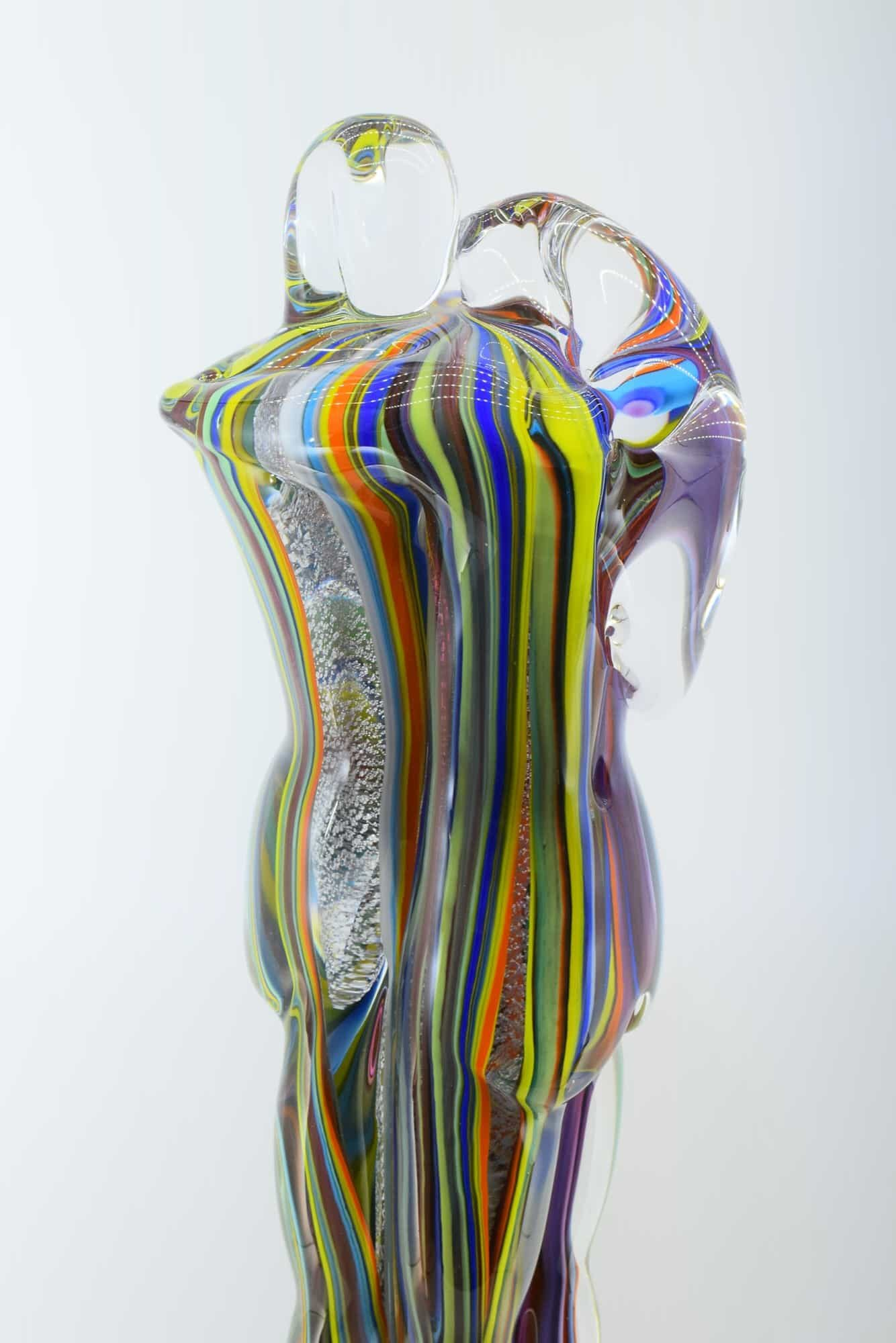 Murano Glass Lovers Sculpture - (Art. 10349)