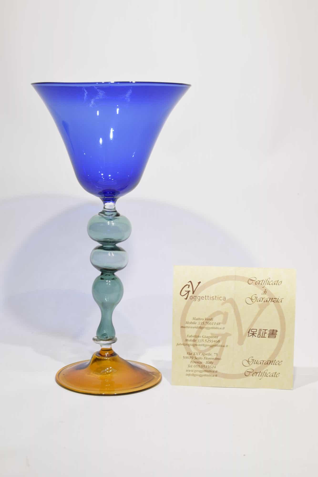 Коллекционный кубок из муранского стекла (арт. 10755)