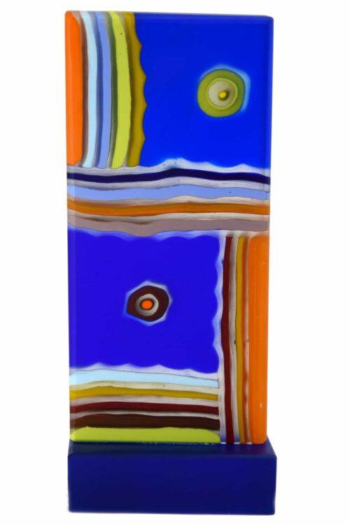 Totoskulptur aus Muranoglas