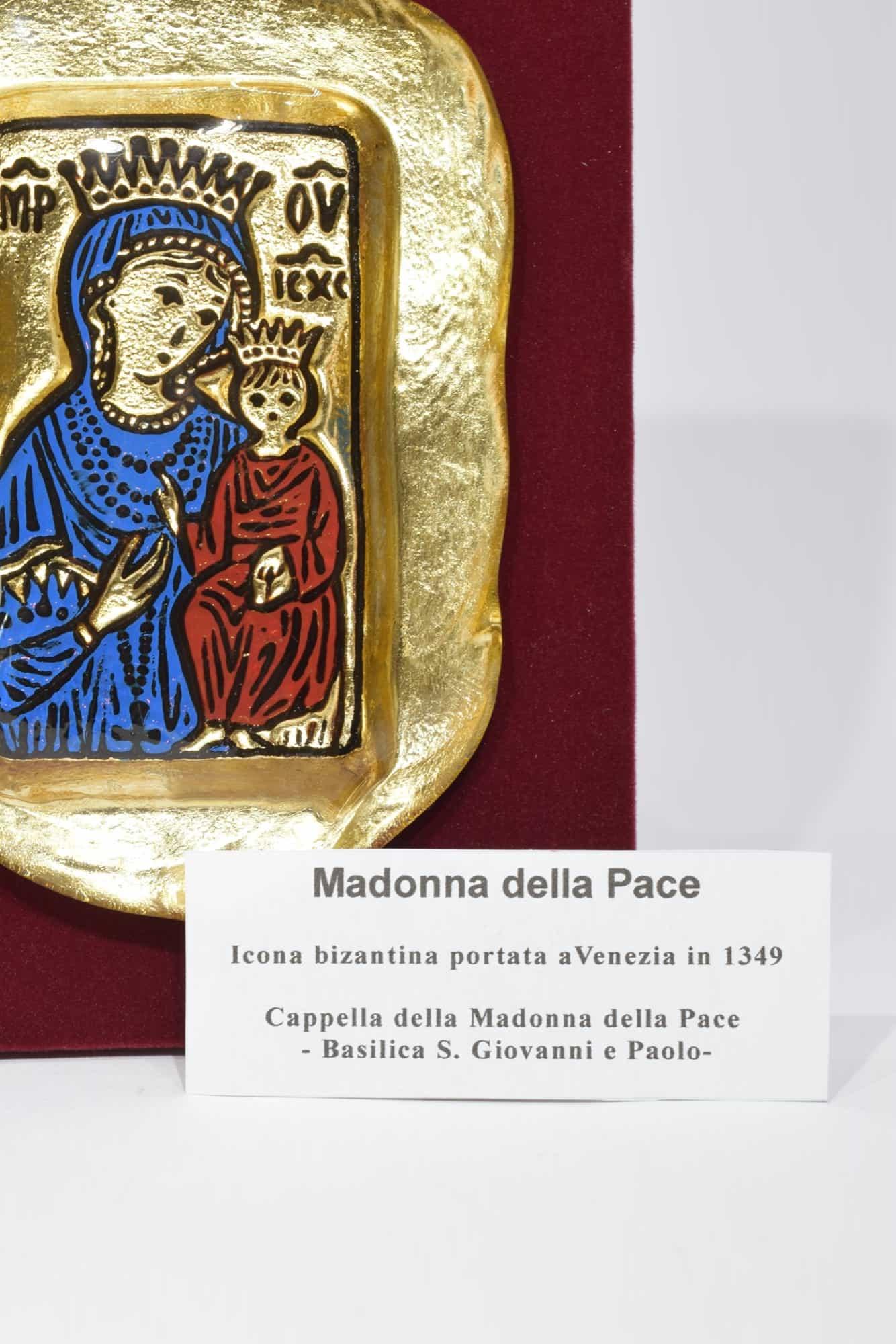 "Картина из муранского стекла ""Мадонна делла Паче"" - (Art. 12468)"