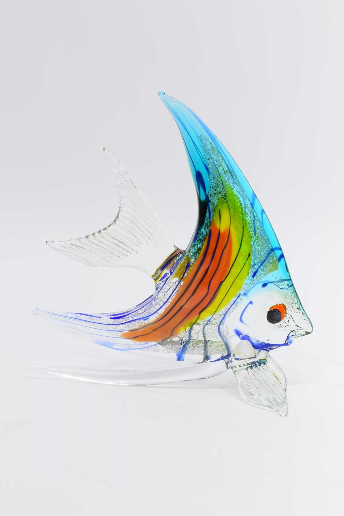 Tropische Fische in Muranoglas - (Art. 12676)