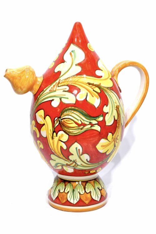 Ручная роспись керамического мародерства графин
