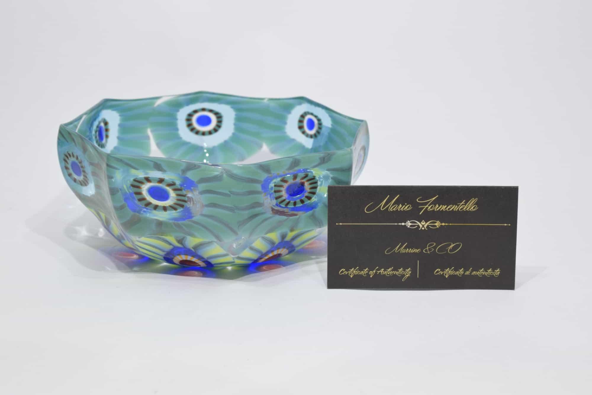 Murano Glass Murrine Herzstück (Art. 12936)