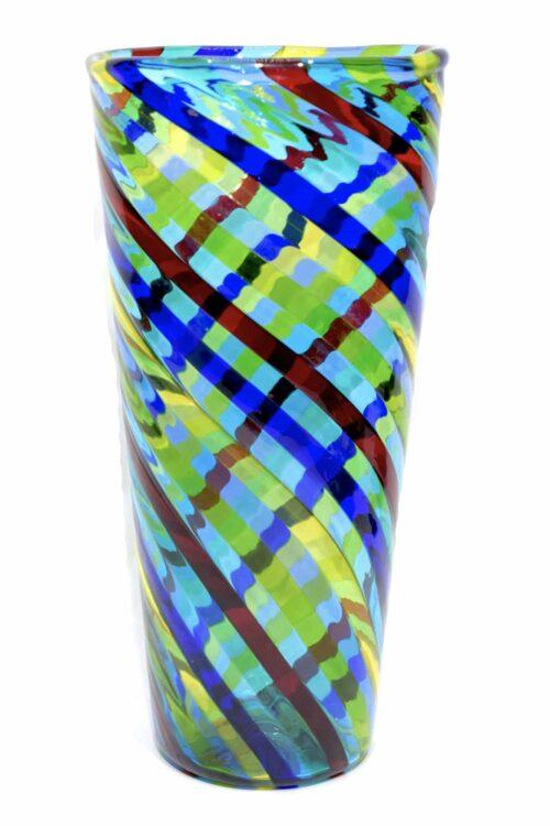 Филигранная ваза из муранского стекла