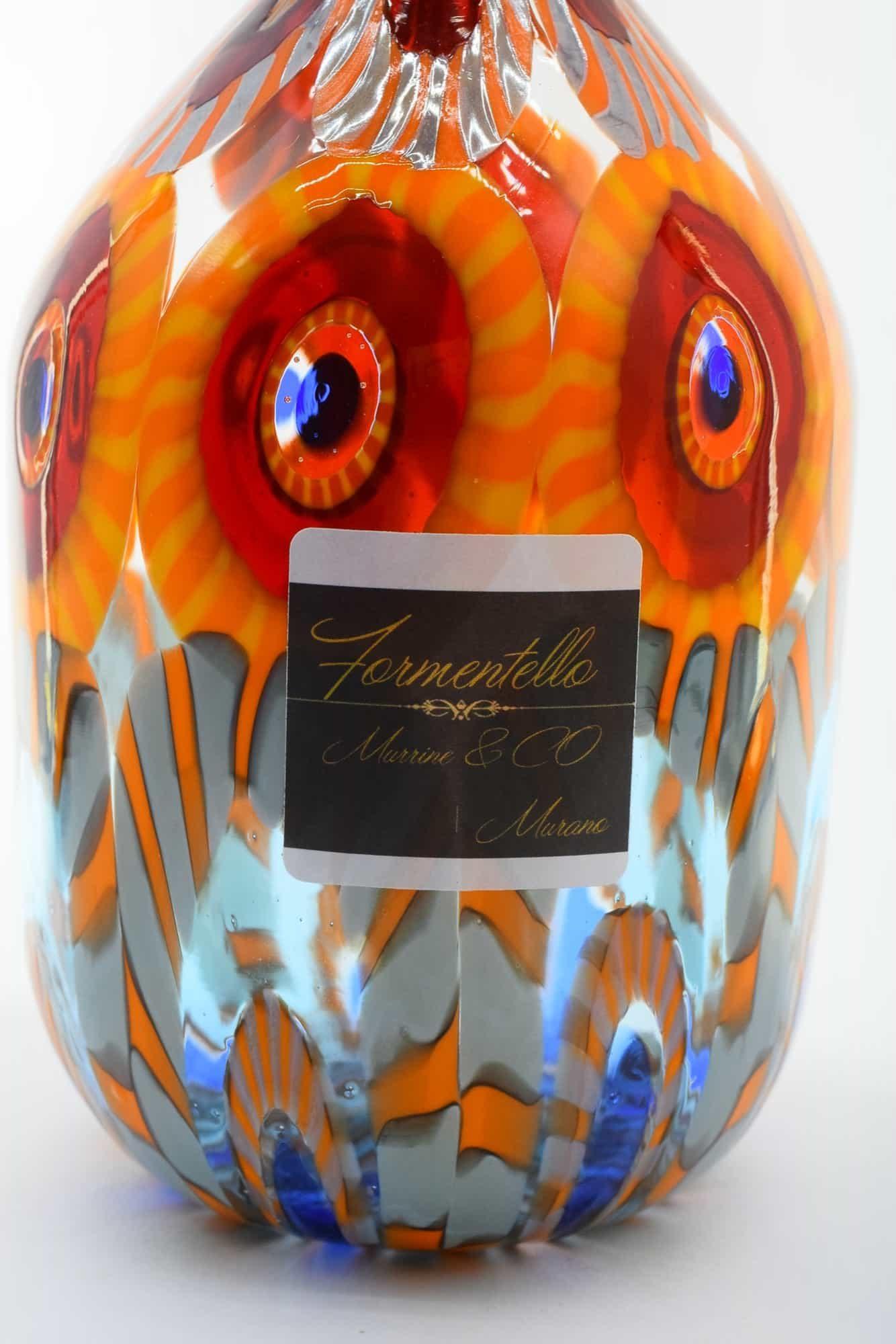 Murano Glass Murrine Vase (Art. 12878)