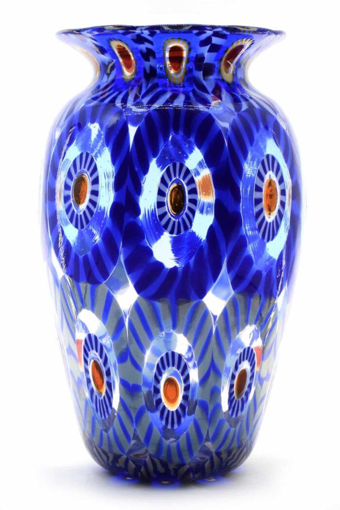 Murano Glas Murrine Vase