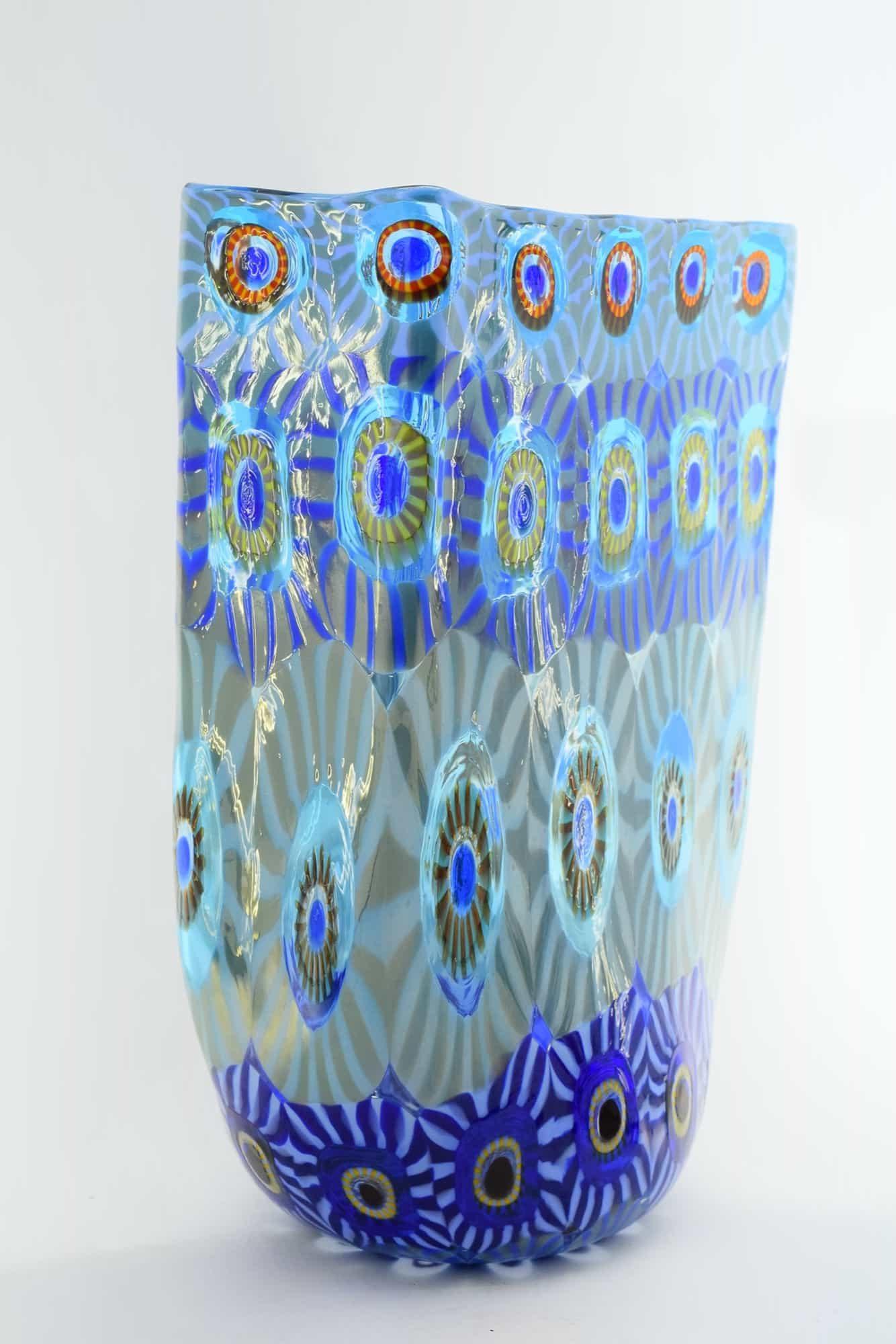 Ваза Муррин из муранского стекла (арт. 12870)