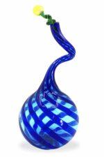 Schilfflasche aus Muranoglas