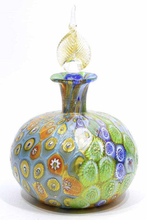 Murano Glas Murrine Flasche