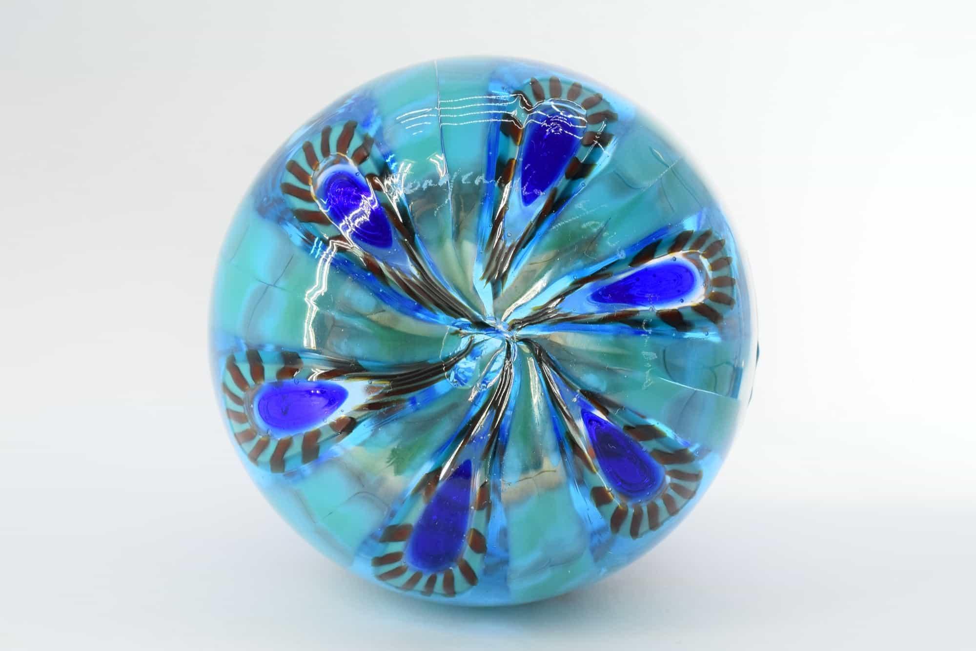 Murano Glass Murrine Vase (Art. 13258)