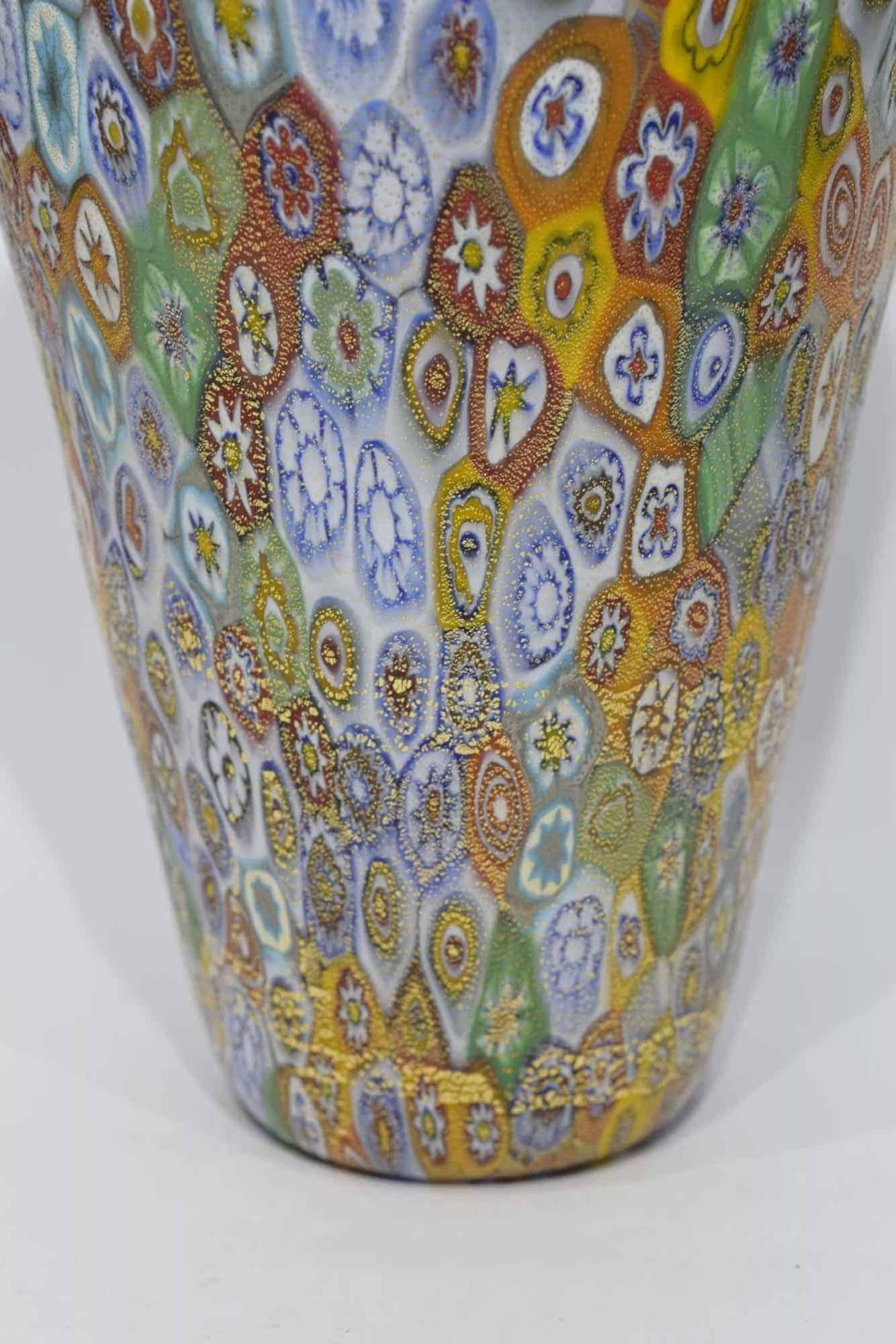 Ваза Муррин из муранского стекла - (Art. 12976)