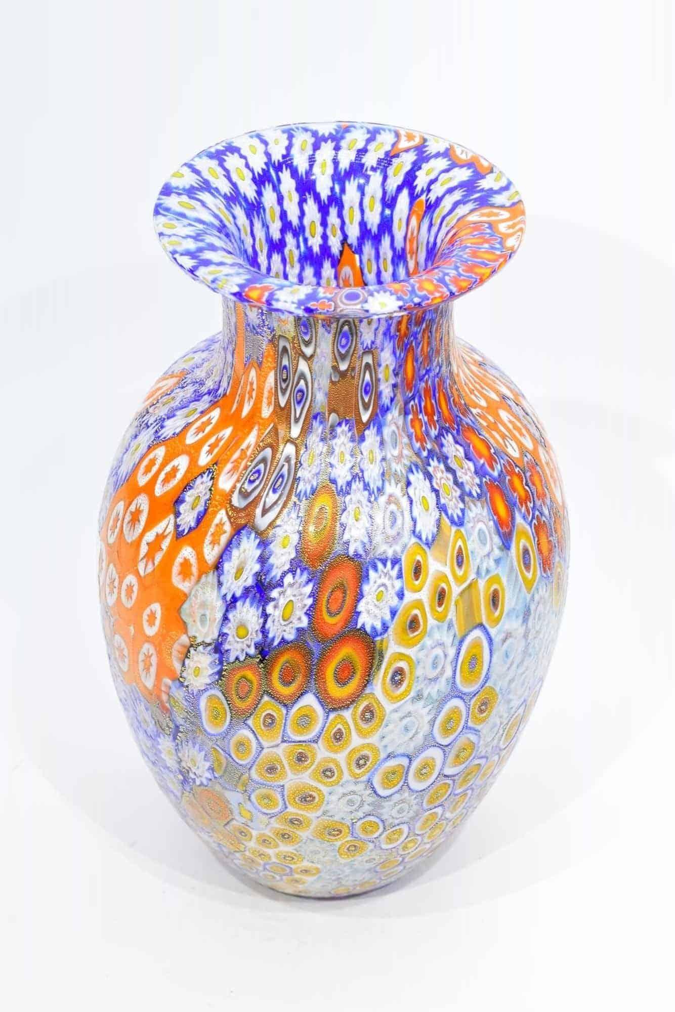 Murrine Vase aus Muranoglas - (Art. 13014)