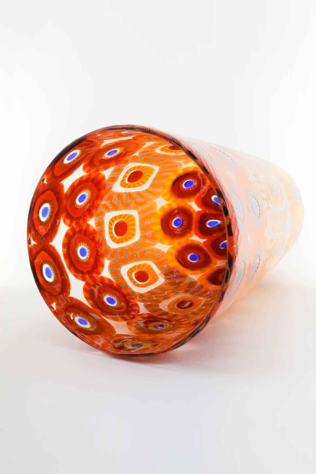Murano Glass Murrine Vase (Art. 13295)