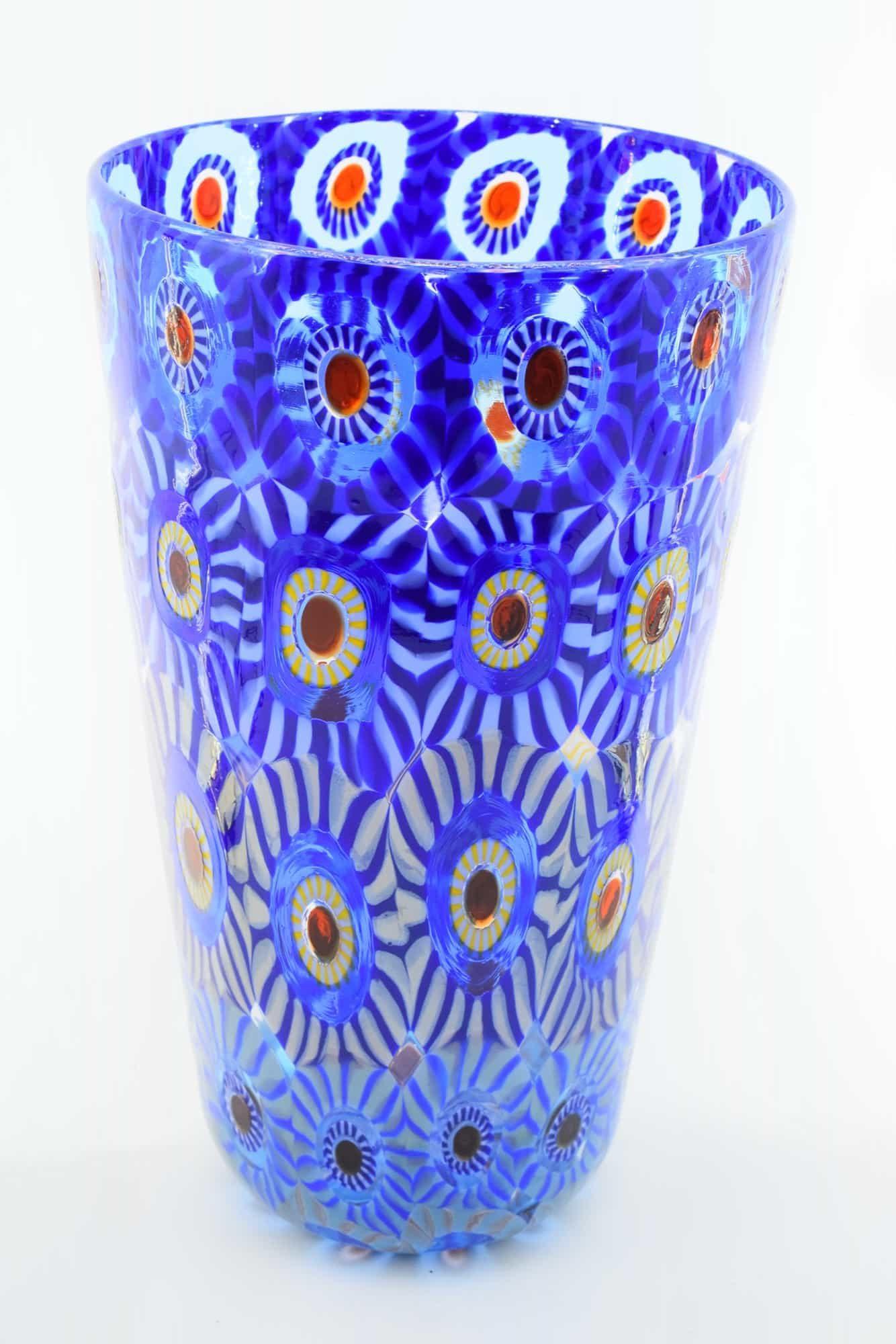 Murano Glass Murrine Vase (Art. 13222)