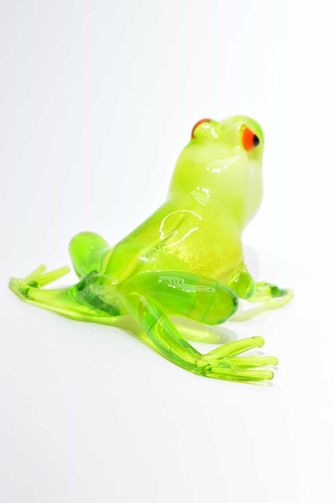 Murano Blown Glass Frog - (Art. 13588)