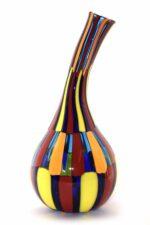 Gefleckte Murano Glasvase