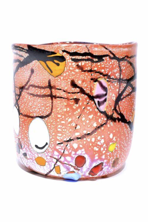 Silberblattglas aus Muranoglas