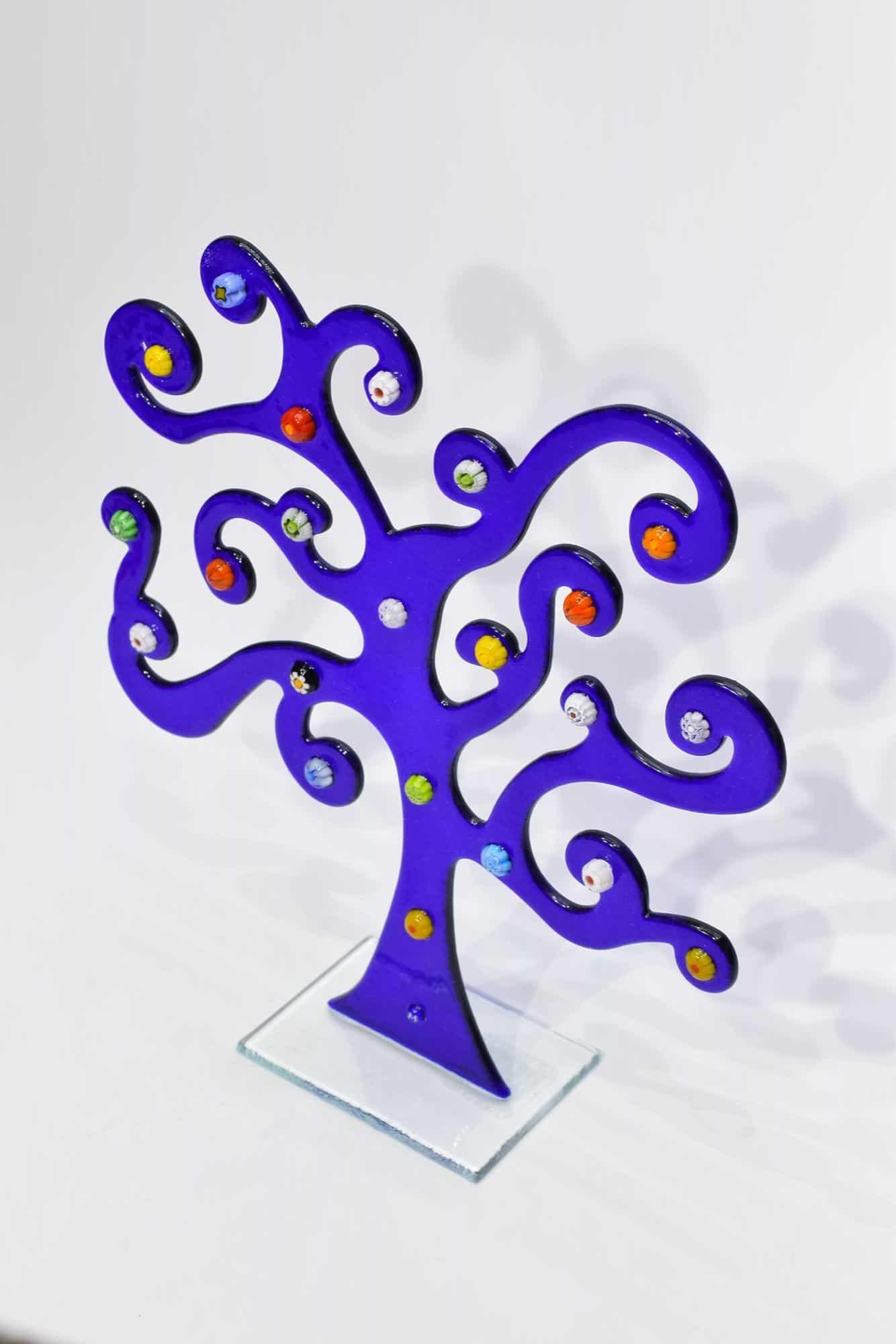 Дерево Климта из муранского стекла - (Art. 32560)